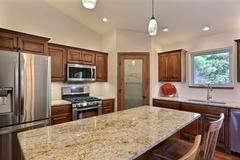 Orchid, Kitchen, Cabinetry, Countertop