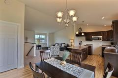 Pecan, Kitchen, Living Room, Dining Room