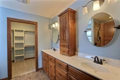 Sequoia, Bathroom, Cabinetry, Countertop