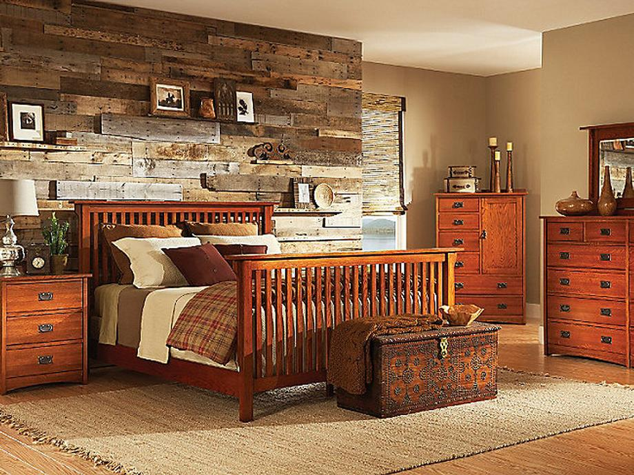 American Mission Slat Bed in Color #80