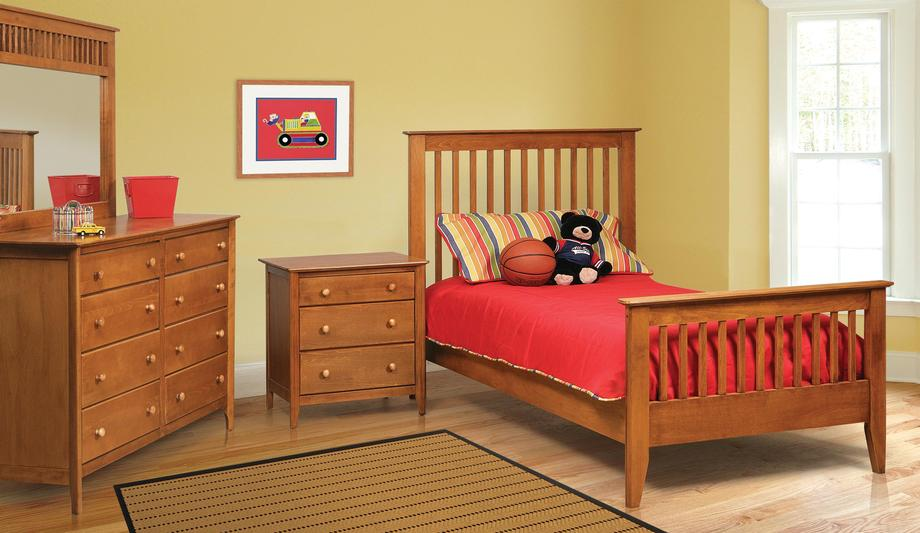 Stratford Twin Bed