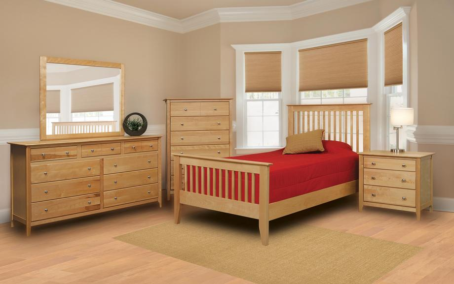 Stratford Twin Slat Bed