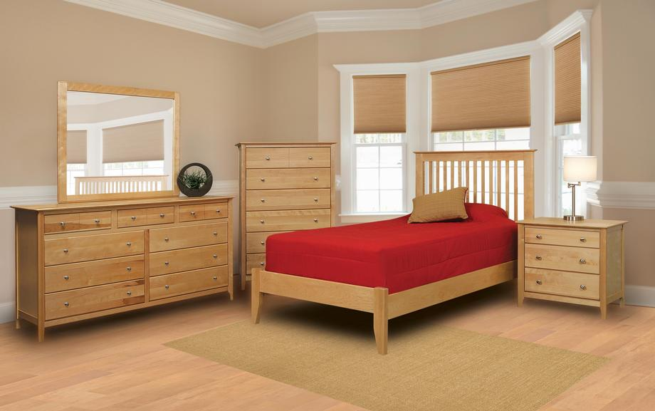 Stratford Twin Low Profile Platform Bed