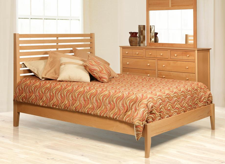 B1314 Stratford Bed in Birch Color #54