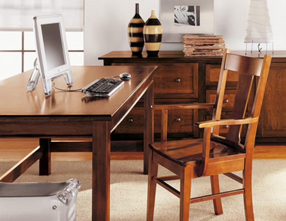 T1297 Desk in Poplar Color #33