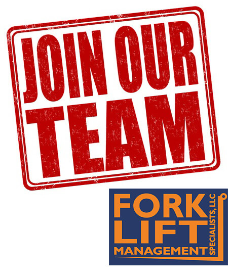 Hiring Now! We are looking for a hard-working Applicant At Forklift Management Specialists, LLC