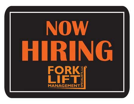 Now Hiring! We are looking for a professional Applicant At Forklift Management Specialists, LLC