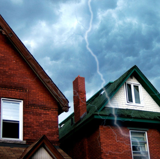 storm and wind damage restoration in Mosinee, WI