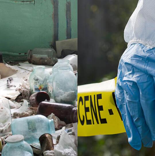 trauma scene cleanup in Abbotsford, WI