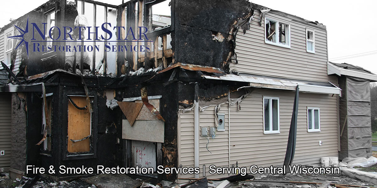 fire and smoke damage restoration in Mosinee, WI