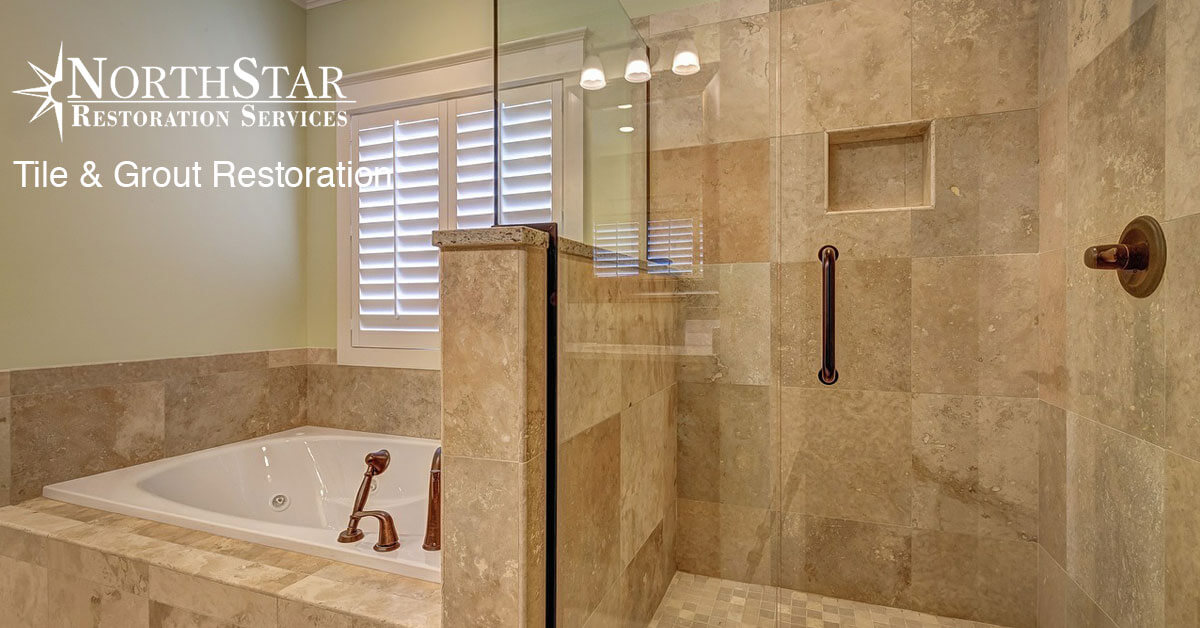 tile and grout restoration in Spencer, WI