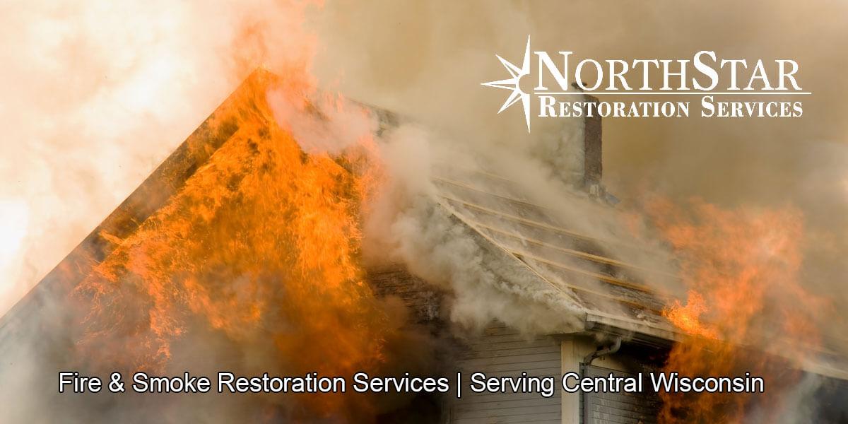 fire damage repair in Nekoosa, WI