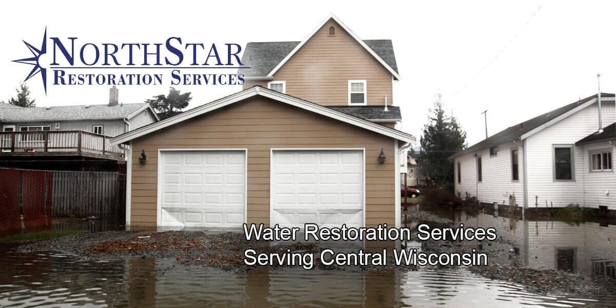 flood damage restoration in Spencer, WI