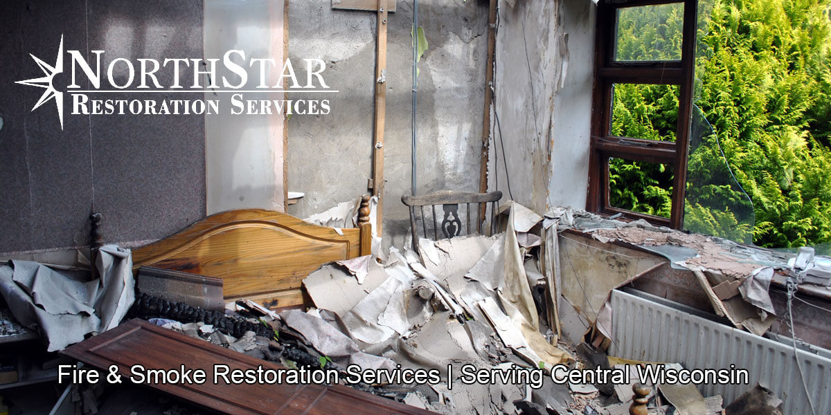 fire and smoke damage repair in Stratford, WI