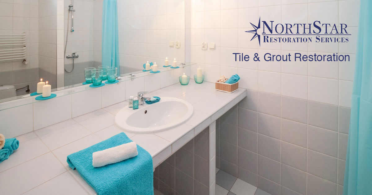 tile and grout restoration in Irma, WI