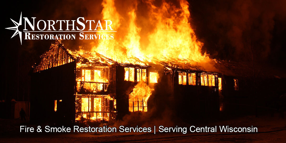 fire and smoke damage restoration in Stevens Point, WI