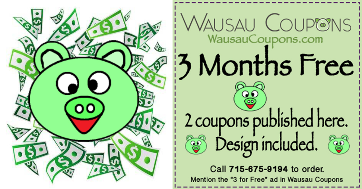 In-Store Coupons near Wausau Area